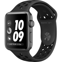 Apple Watch S3 GPS NIKE+ Antracit