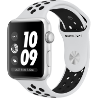 Apple Watch S3 GPS NIKE+ Platina