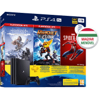 Playstation 4 Pro 1TB + SpiderMan + Horizon Zero Dawn + Ratchet and Clank + Pluscard