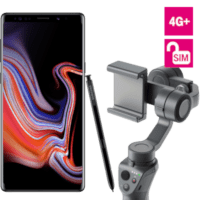Samsung Galaxy Note 9 + DJI Osmo Mobile 2