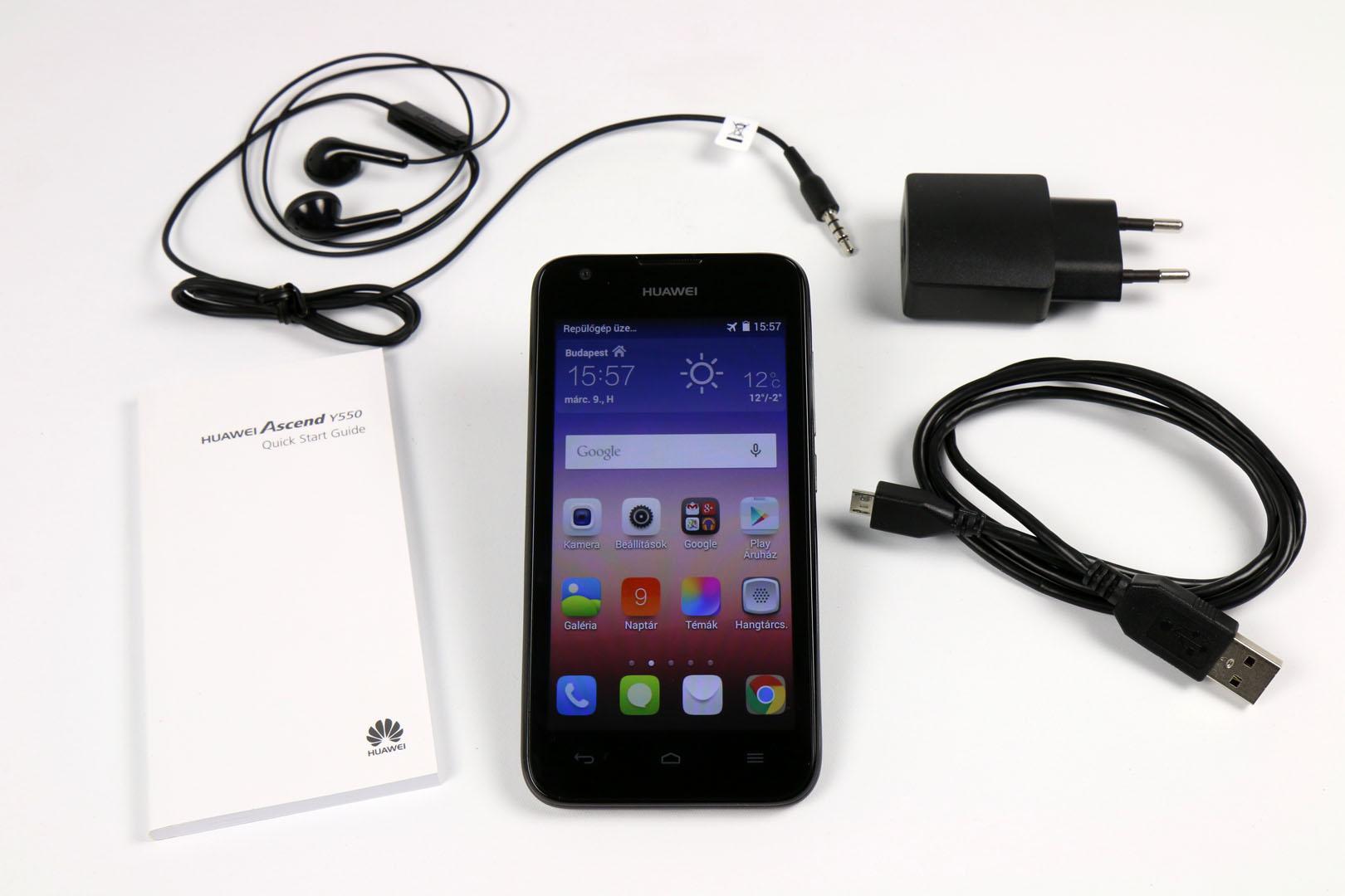 Készülékbeállítás - Huawei Ascend Y550