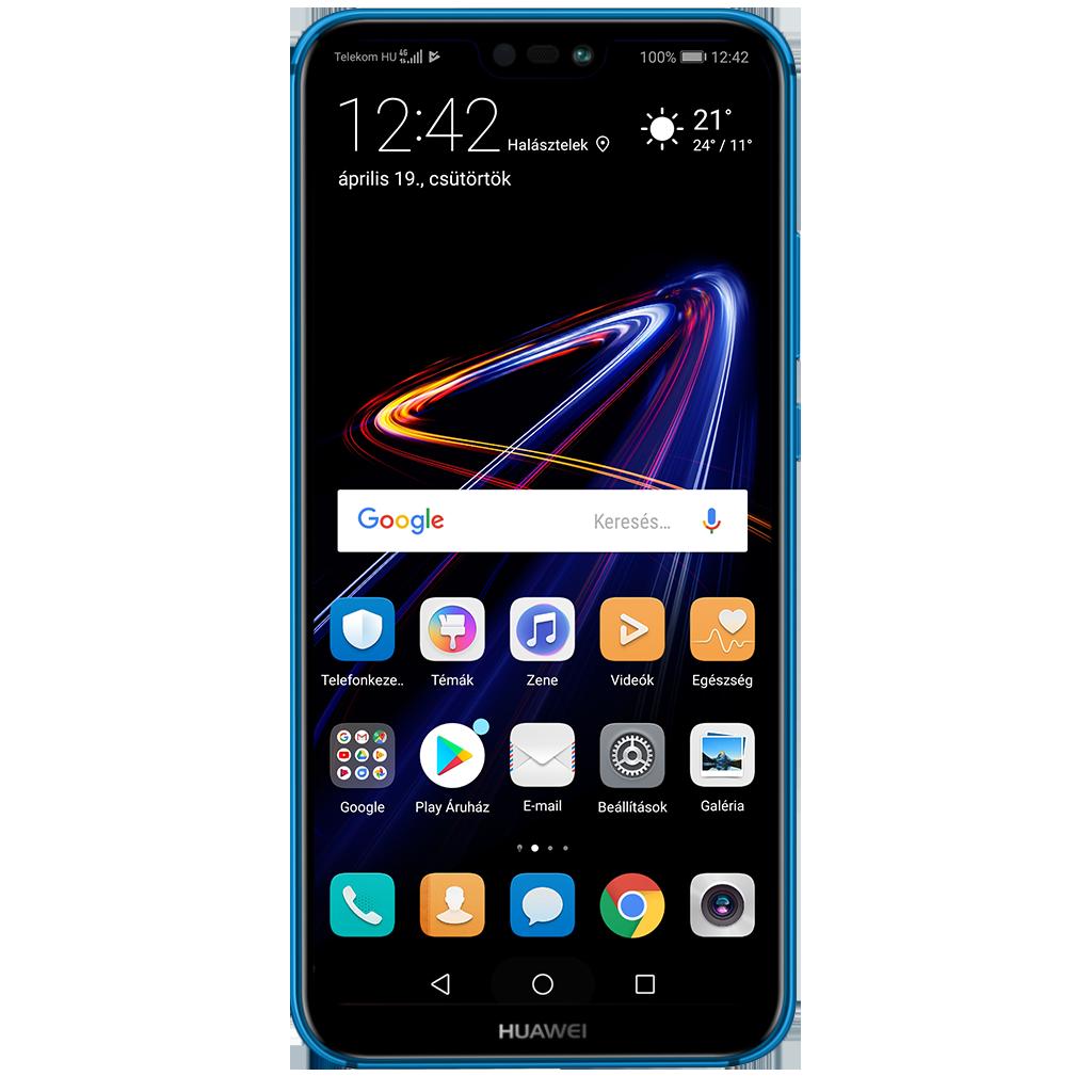 905df53435 Huawei P20 Lite beállításának kijelzője