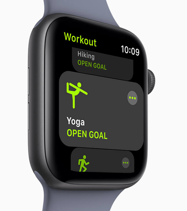 Apple       Watch workout