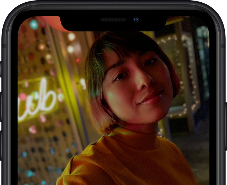 iPhone       Xr TrueDepth